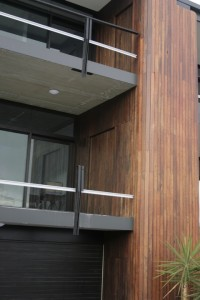 Jarrah custom cladding