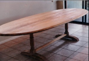 Kauri pine custom 16 seater table